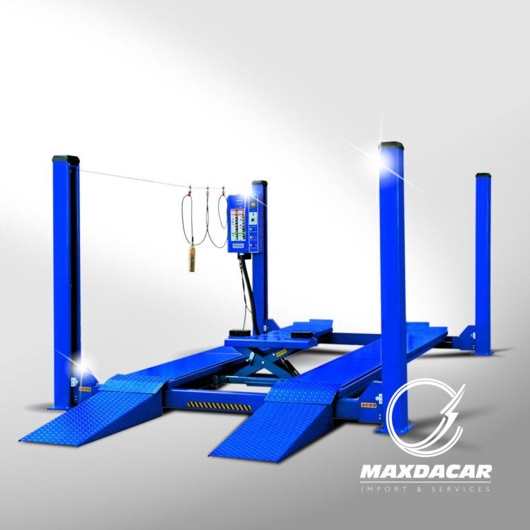 Maxdacar Equipos Serviteca - Plataforma Alineación ld440A