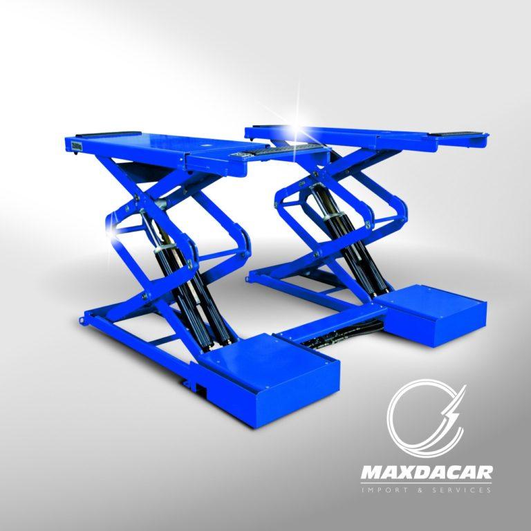 Maxdacar Equipos Serviteca - Plataforma Alineación ld601