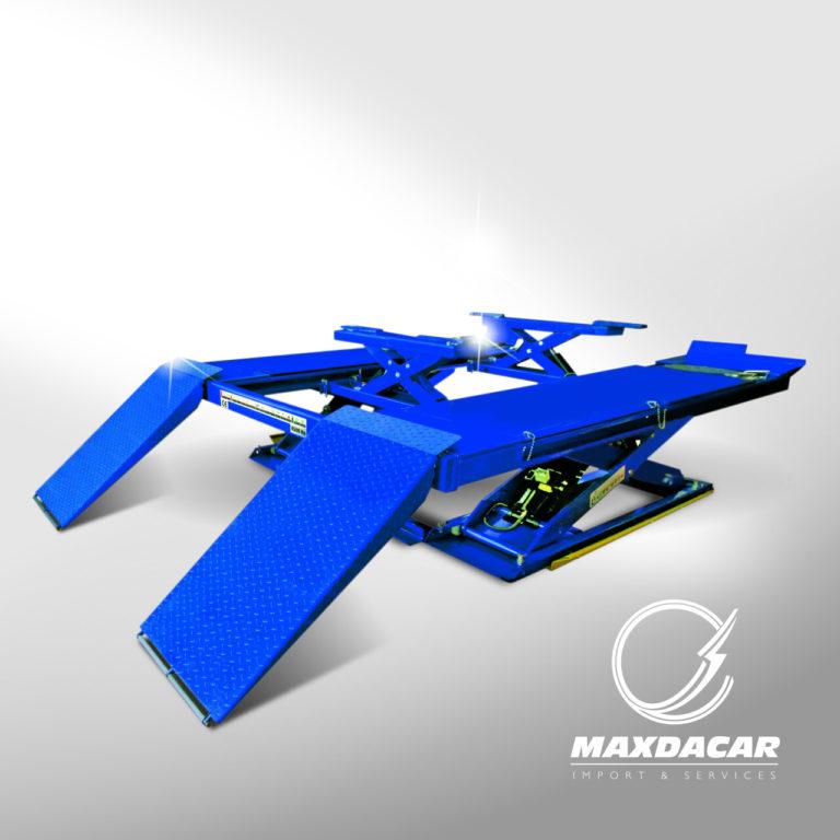 Maxdacar Equipos Serviteca - Plataforma Alineación ld602